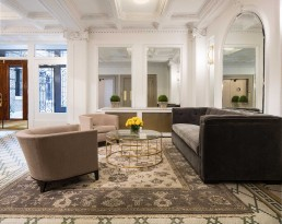 Sygrove's Residential Lobby Design in Upper West Side, NYC