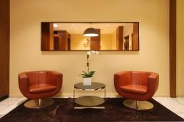 174 East 74th St lobby seating, sygrove associates